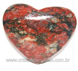 Coraçao Unakita Brasileira Ideal P Presente e Enfeite 118571