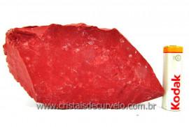 Jaspe Vermelho Pedra Natural Mineral Bruto Colecionador ou Esoterico Cod 428.1