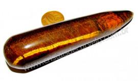 Massageador Roliço Pedra Olho de Tigre Terapeutica Cod MO3709