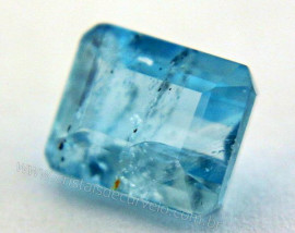 Gema Baguette Topazio Azul Para Joias 7.3ct 12mm REFF GT2003