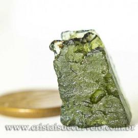 Moldavita Pedra Formada por Impacto de Meteoro Cod 125157