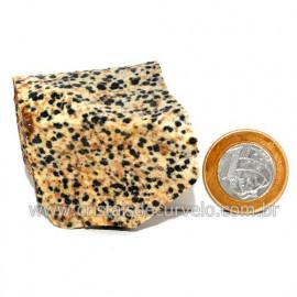 Jaspe Dalmata Pedra Natural Mineral de Esoterismo Cod123310