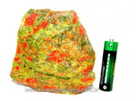 Unakita Pedra Bruta Natural De Garimpo Boa Cor Cod UB9615