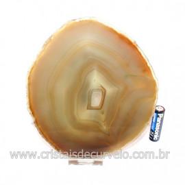 Chapa de Agata  Natural Porta Frios Bandeja Pedra Natural 128765