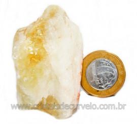 Citrino Bombardeado Pedra Bruta Ideal P/ Coleção Cod 104680