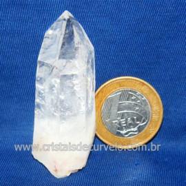 Lemuria Pequeno Quartzo Comum Cristal Lemuriano Natural Cod 119469
