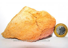 Pedra Areia ou Arenito Bruto Natural Colecionador Cod PA5495