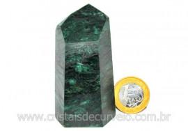 Ponta Fuxita Verde Pedra Natural Mineral Garimpo Cod PF4284