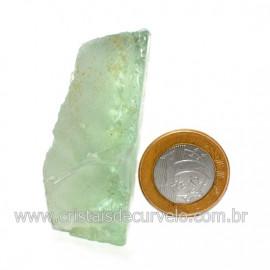 Obsidiana Verde Pedra Vulcanica Ideal P/ Coleçao Cod 128420