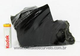 Obsidiana Negra Lava Vulcanica Para Colecionador ou Esoterismo Fragmento Cod 701.2