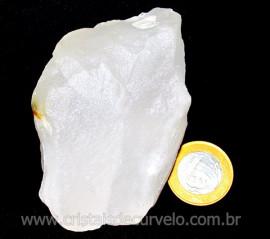 Aragonita Branca Pedra Natural Para Esoterismo Cod AB3981