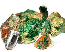 JADE Bruto ou Jadeita e Nefrita Pedra Pra Lapidar Pacote Atacado 5 kg