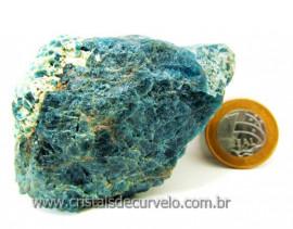 Apatita Azul Em Bruto Pedra Media  Para Esoterico ou Colecionador Cod 233.1