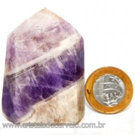 Ponta Chevron Pedra Natural Gerador Sextavado Cod 113163