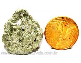 Pirita Natural Pedra Comum Cubos Cor Ouro a Cinza Cod 110280