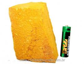 Jaspe Amarelo Pedra Bruta Natural Para Esoterismo Cod JA6844