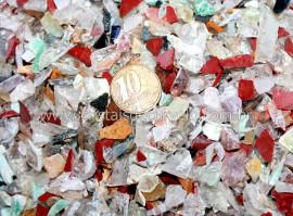 Cascalho Bruto Pedras MISTAS Miuda 100 Gr Orgonite Reff RM1415