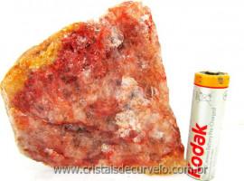 Hematoide Vermelho Pedra Natural Quartzo Cristalizado Cod 414.4