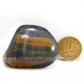Olho de Falcão Rolado Pedra Natural Origem África Cod 127009