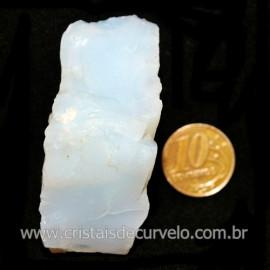 Opala Branca Pedra Genuina P/Coleçao ou Lapidaçao Cod 123824
