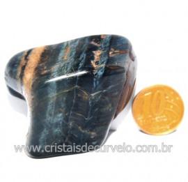 Olho de Falcão Rolado Pedra Natural Origem África Cod 123555