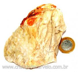 Calcedonia Geodo Pedra Bruto Natural de Garimpo Cod 110395