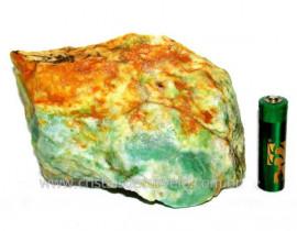 Jadeita Com Nefrita Pigmentada Mineral Natural Cod102042