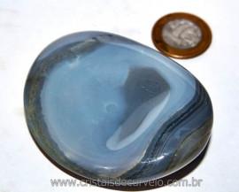 Massageador de Seixo Pedra Agata Natural Cod MA5178