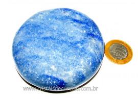 Massageador Disco Quartzo Azul Massagem Terapeutica Cod DA7642