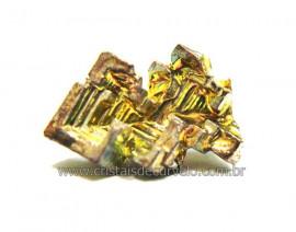 Bismuto Mineral ou Bismuth Stone Pedra Natural Cod BB8083