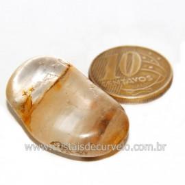 Hematoide Amarelo com Inclusão Dendrita Pedra Natural Cod 126202