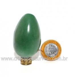 Ovo Aventurina Verde Pedra Quartzo Verde Natural Cod 128638