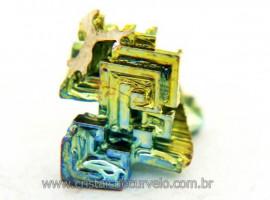 Bismuto Mineral ou Bismuth Stone Pedra Natural Cod BB9602
