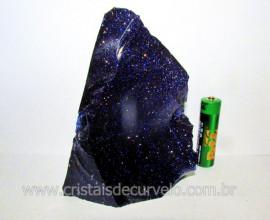 Pedra Estrela Pigmento Dourado Para Lapidar Colecionador ou Esoterismo Cod 394.6
