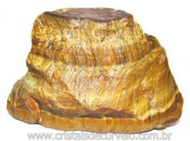 Olho de Tigre Pedra Extra Bruto Natural da África Cod 111125