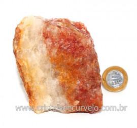 Hematoide Vermelho Natural Quartzo Cristalizado Cod 121491