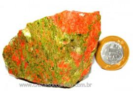 Unakita Pedra Bruta Natural De Garimpo Boa Cor Cod UB3326
