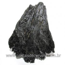 Cianita Preta ou Vassoura de Bruxa Pedra Extra Cod 117983
