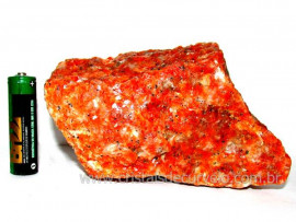 Calcita Laranja Mineral Bruto Natural Esoterismo Cod CL5971