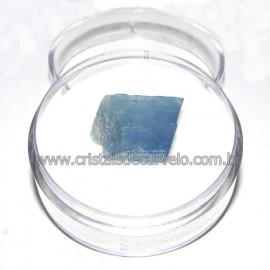 Calcita Azul do Mexico no Estojo Pedra Natural Cod 114185