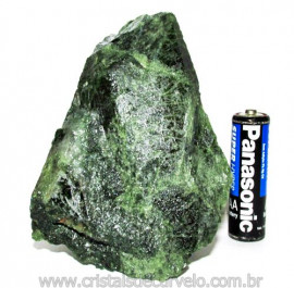 Epidoto Verde Filamento na Matriz Cristal Quartzo Cod 111194
