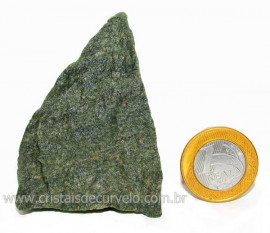 Basalto Verde Bruto Para Colecionador ou Estudante Cod BV7243