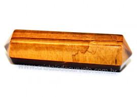 Bi Terminado Olho de Tigre Pedra Tamanho Mini 4cm REF MB5932