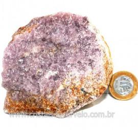 Lepidolita Mica Natural Mineral P/Colecionador Cod 124253