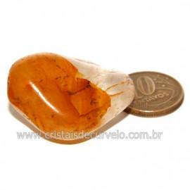 Hematoide Amarelo com Inclusão Dendrita Pedra Natural Cod 126203