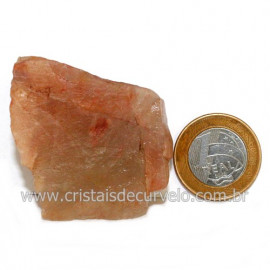 Aragonita Vermelho Pedra Bruto Mineral Natural Cod 123319