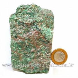 Fuxita Mica Verde Para Colecionador Pedra Natural Cod 126807