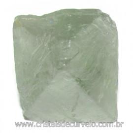 Fluorita Cubica da Mongólia Pedra Natural Pra Coleção 115916
