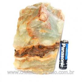 Onix Argentino ou Onix Azul Pedra Bruto Natural Cod 121508