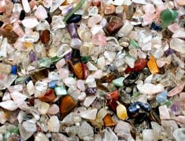 Cascalho MISTO Para Orgonite Comum 1kg Varias Pedras Misturado Leia Descriçao